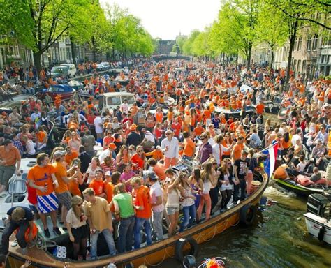 King's Day Amsterdam Boat Party 2019 - Shared Boat