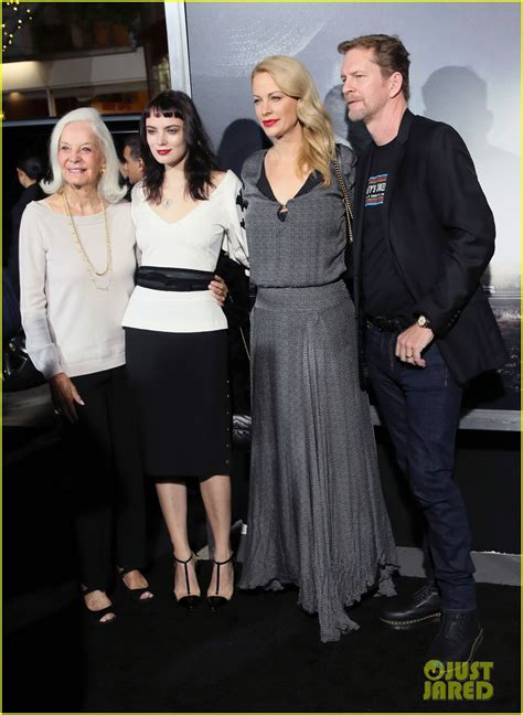 Clint, Scott, & Alison Eastwood Have Family Night at 'The