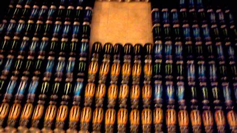 Monsterpiece! Insane Monster Energy Collection! - YouTube