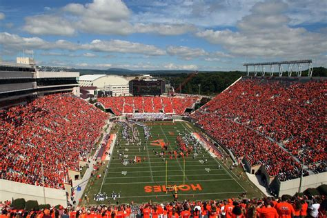 Lane Stadium Compared To Others - Gobbler Country
