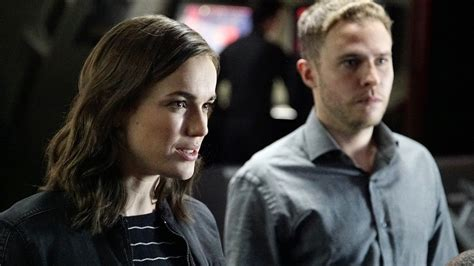 Agents of SHIELD's Fitz and Simmons on Field Training