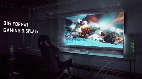 NVIDIA Supersizes PC Gaming with New Breed of Big Format