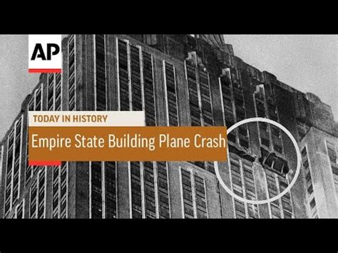 Empire State Building Plane Crash - 1945 | Today in