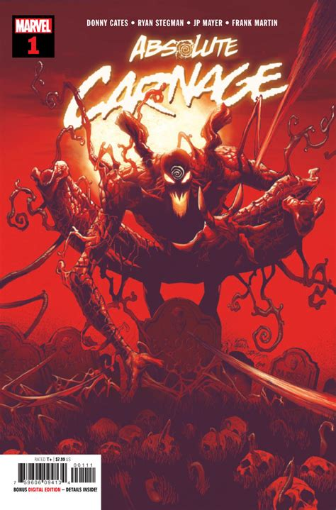 Comic Book Preview - Marvel's Absolute Carnage #1