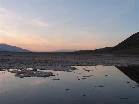File:Badwater Death Valley, lowest point in United States