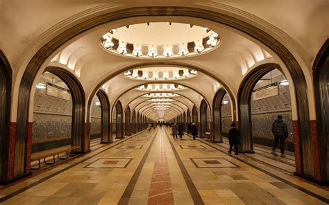 Moscow Metro photos: Step back in time in the world's most