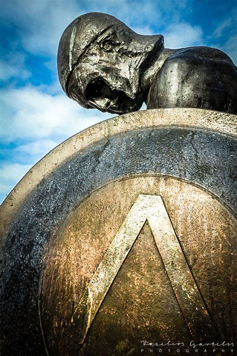 Statue of Spartan warrior, Sparta, Greece (With images