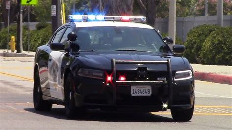 CHP New Dodge Charger Responding - YouTube