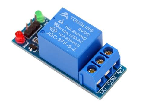 1-Channel Relay Module-10A | Makerfabs