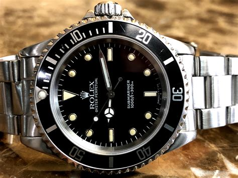 Rolex Submariner No Date Model 14060 Automatic 40mm