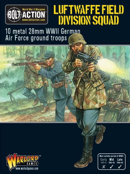 Luftwaffe Field Division Squad - Warlord Games