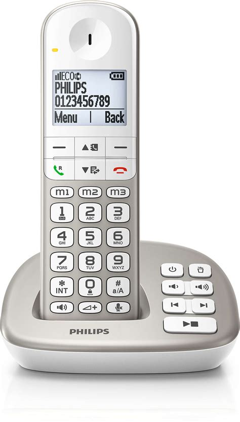 Cordless phone with answering machine XL4951S/05   Philips