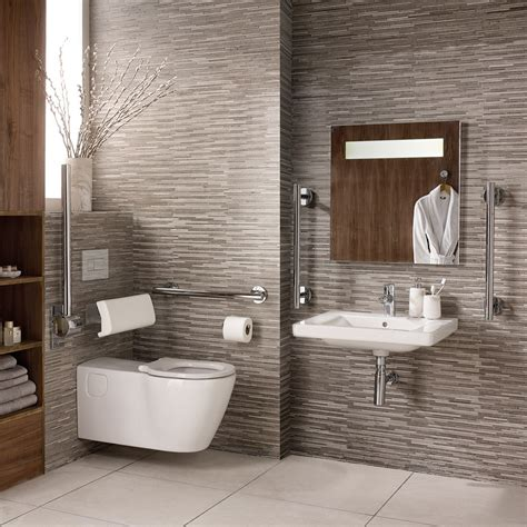 Ideal Standard Concept Freedom accessible bathroom suite