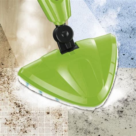CLEAN Edition Dampfbesen 3in1, limegreen inkl