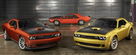 2020 Dodge Challenger 50th Anniversary Editions The Daily