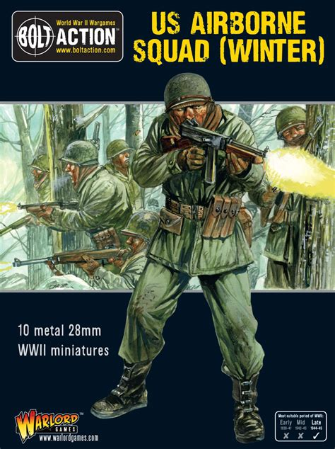 New: US Airborne Squad (Winter) - Warlord Games
