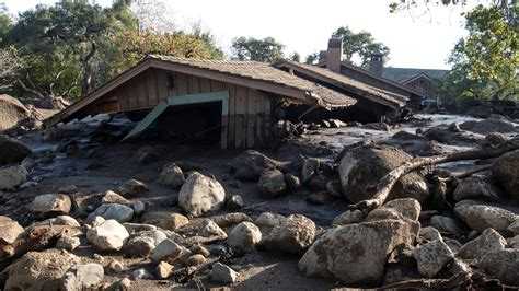 California mudslides: Rescuers race against time to find