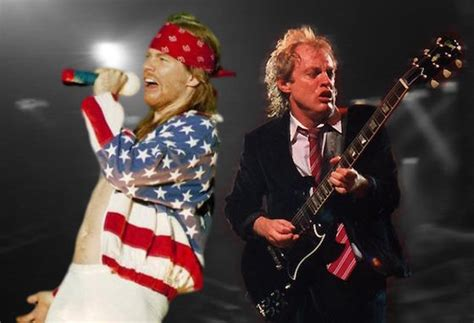 AC/DC Confirm Axl Rose as New Singer