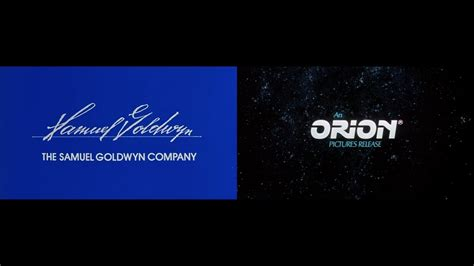 The Samuel Goldwyn Company/Orion Pictures - YouTube