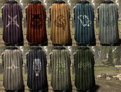 Cloaks and Capes at Skyrim Special Edition Nexus - Mods