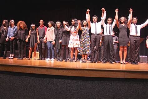Black History Program wins applause from packed PAC