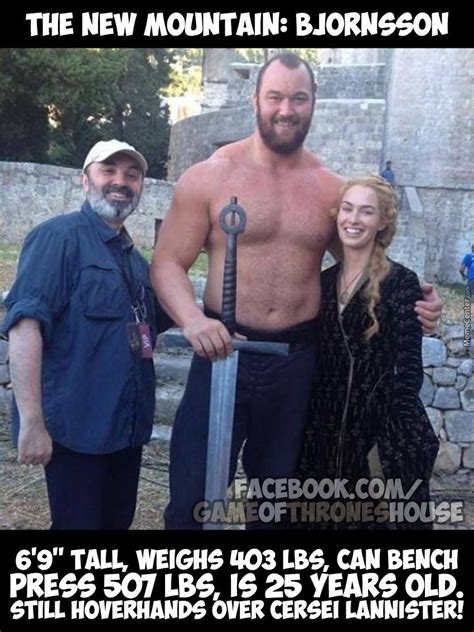 Meet The Mountain   Game of thrones cast, Game of throne