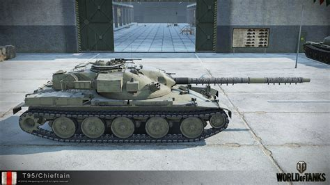 T95/Chieftain HD Renders – The Armored Patrol