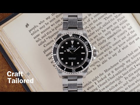 14060M Rolex Submariner Collection Black Dial Mens Watch