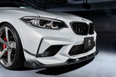 3DDesign BMW M2 competition Front spoiler carbon