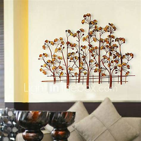 Metal Wall Art Wall Decor,Happiness Of The Ginkgo Tree