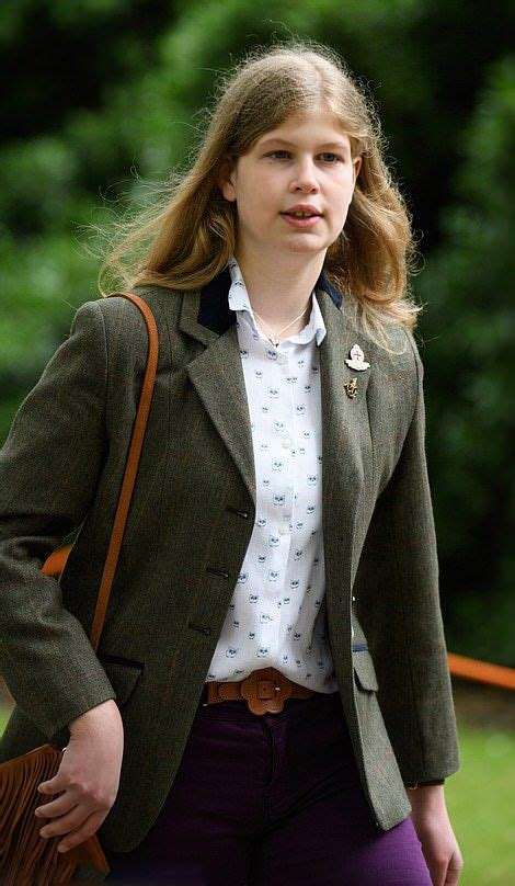 Lady Louise Mountbatten-Windsor, 14, is the daughter of