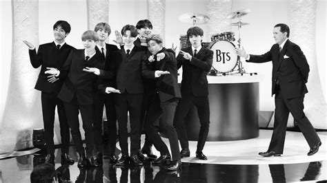 BTS Transforms Into The Beatles Before Your Eyes, Ed