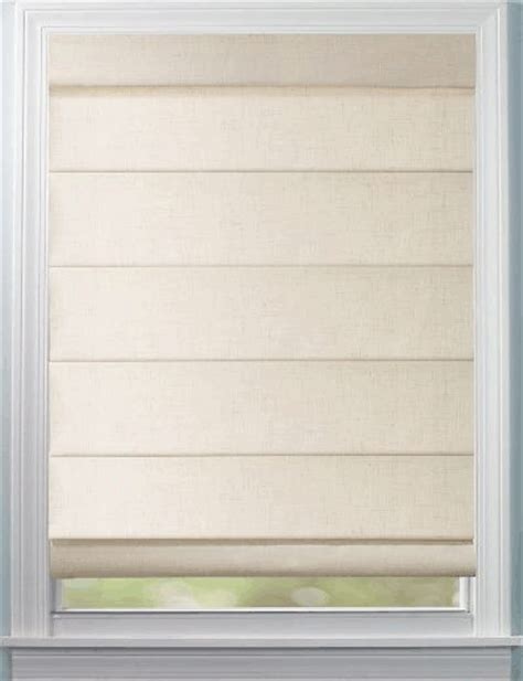 Levolor Roman Shades Seclusions Hobbled Style
