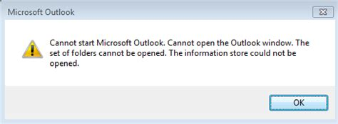 Best 5 Solution to Fix Cannot Start Microsoft Outlook