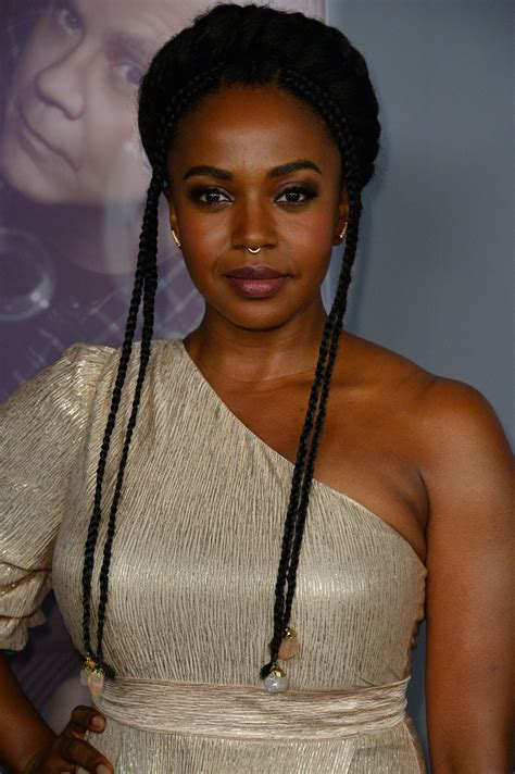 """Jerrika Hinton - """"Here and Now"""" Premiere in LA"""