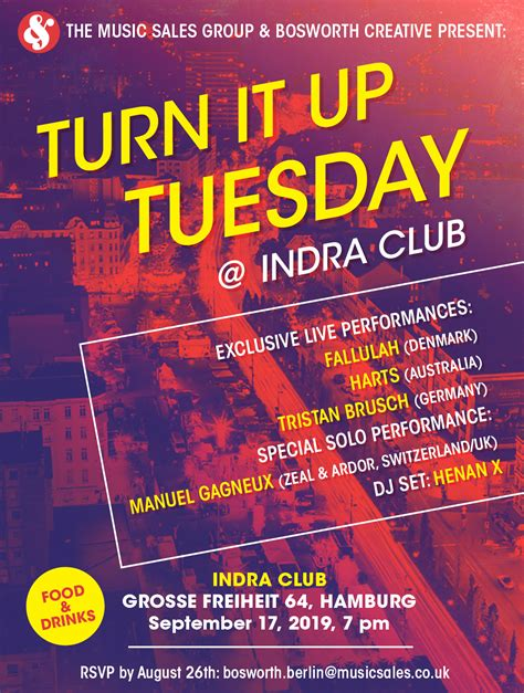 Turn it up Tuesday – Indra Club 64