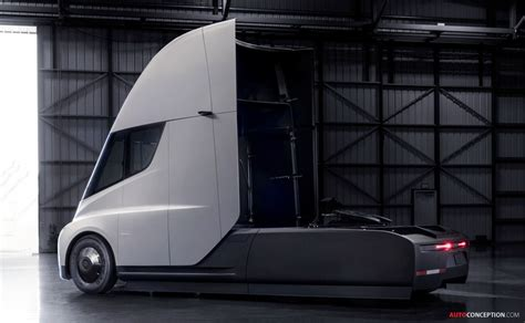 Tesla Unveils New Roadster and Semi Truck - AutoConception