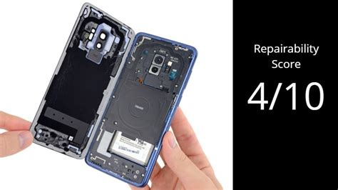 Samsung Galaxy S9 Is Hard To Repair, Gets Just 4 Out Of 10