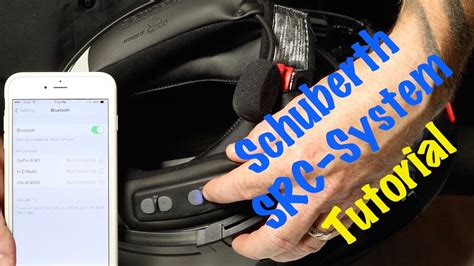 How to use & operate Schuberth SRC Bluetooth Headset