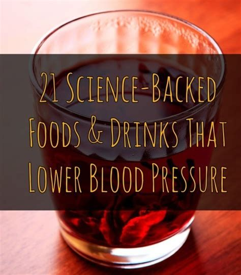 21 Science-Backed Foods & Drinks That Lower Blood Pressure